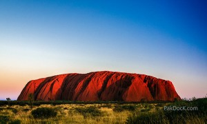 Australia-czerwona-gora